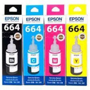 EPSON หมึกเติมแท้ 664